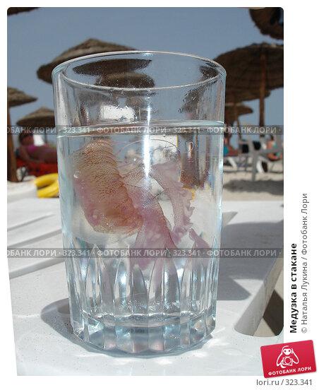 Медузка в стакане, фото № 323341, снято 27 мая 2006 г. (c) Наталья Лукина / Фотобанк Лори