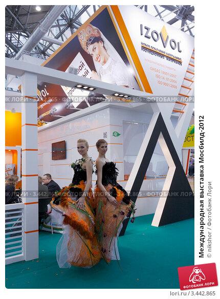 Купить «Международная выставка Мосбилд-2012», фото № 3442865, снято 11 апреля 2012 г. (c) nikshor / Фотобанк Лори