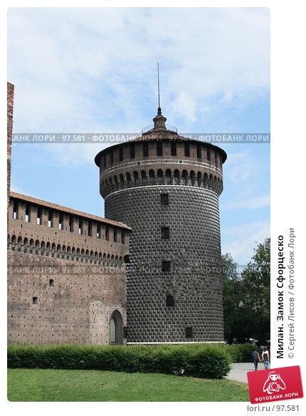 Милан. Замок Сфорцеско, фото № 97581, снято 3 июня 2007 г. (c) Сергей Лисов / Фотобанк Лори
