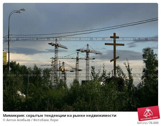 Мимикрия: скрытые тенденции на рынке недвижимости, фото № 76009, снято 14 июля 2007 г. (c) Антон Алябьев / Фотобанк Лори
