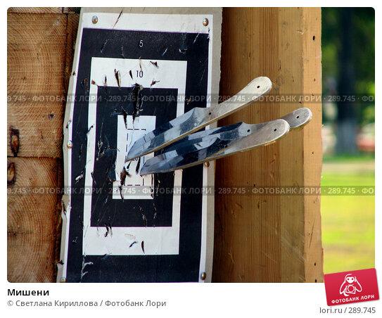 Купить «Мишени», фото № 289745, снято 18 мая 2008 г. (c) Светлана Кириллова / Фотобанк Лори