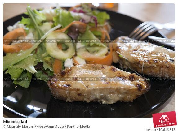 Mixed salad. Стоковое фото, фотограф Maurizio Martini / PantherMedia / Фотобанк Лори