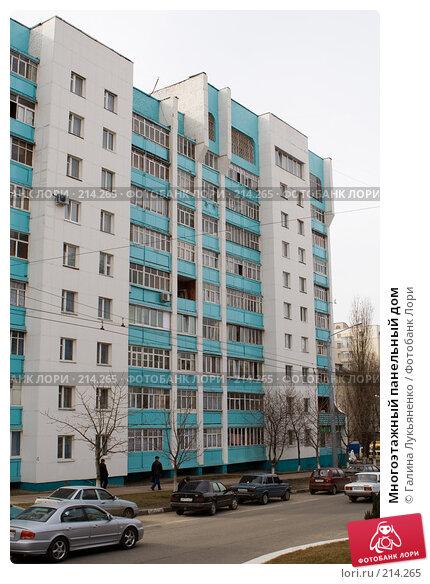 Многоэтажный панельный дом, эксклюзивное фото № 214265, снято 4 марта 2008 г. (c) Галина Лукьяненко / Фотобанк Лори