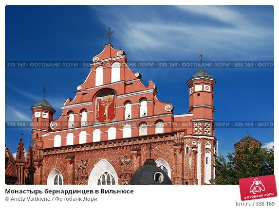 Монастырь бернардинцев в Вильнюсе, фото № 338169, снято 27 июня 2008 г. (c) Aneta Vaitkiene / Фотобанк Лори