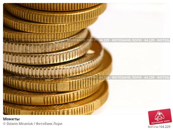 Купить «Монеты», фото № 64229, снято 6 февраля 2007 г. (c) Dzianis Miraniuk / Фотобанк Лори
