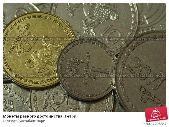 Монеты разного достоинства. Тетри, фото № 226337, снято 9 января 2008 г. (c) ZitsArt / Фотобанк Лори