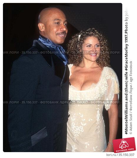 #MontelWilliams and (then) wife #GraceMorley 1997.Photo by John Barrett... Редакционное фото, фотограф Adam Scull / age Fotostock / Фотобанк Лори