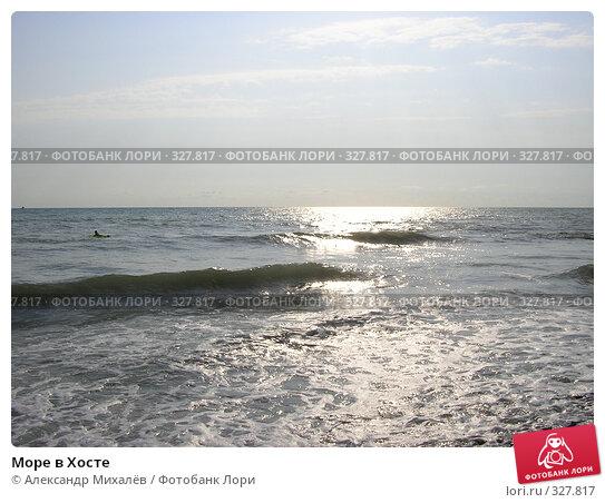 Купить «Море в Хосте», фото № 327817, снято 26 июля 2005 г. (c) Александр Михалёв / Фотобанк Лори