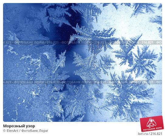 Морозный узор, фото № 216821, снято 24 июля 2017 г. (c) ElenArt / Фотобанк Лори