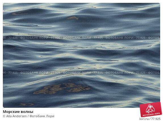 Морские волны, фото № 77925, снято 10 сентября 2006 г. (c) Alla Andersen / Фотобанк Лори