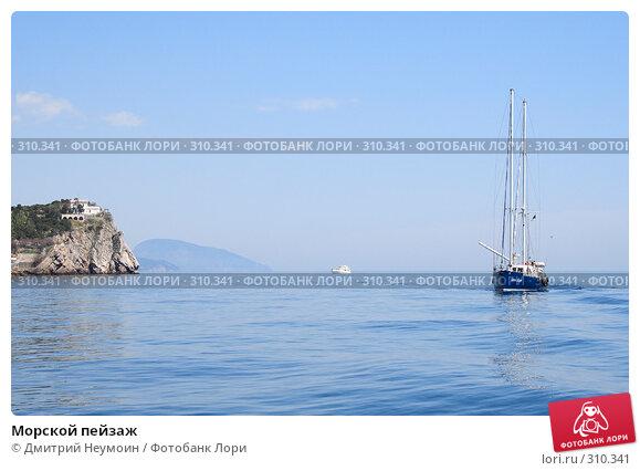Купить «Морской пейзаж», эксклюзивное фото № 310341, снято 1 мая 2008 г. (c) Дмитрий Неумоин / Фотобанк Лори