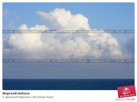 Морской пейзаж, эксклюзивное фото № 310349, снято 29 апреля 2008 г. (c) Дмитрий Неумоин / Фотобанк Лори