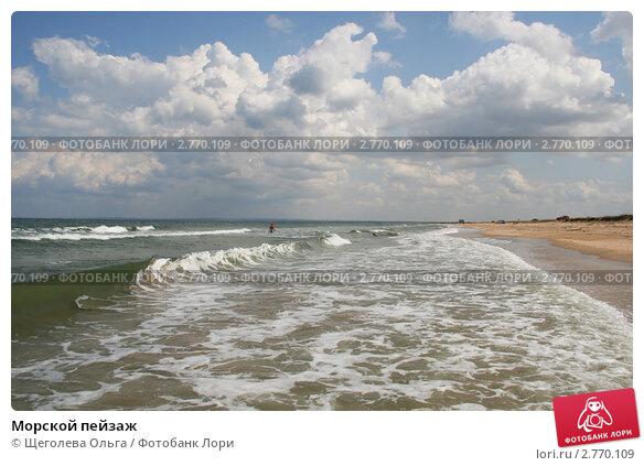 Купить «Морской пейзаж», эксклюзивное фото № 2770109, снято 14 августа 2011 г. (c) Щеголева Ольга / Фотобанк Лори