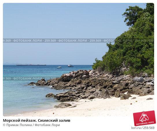 Морской пейзаж. Сиамский залив, фото № 259569, снято 18 августа 2007 г. (c) Примак Полина / Фотобанк Лори