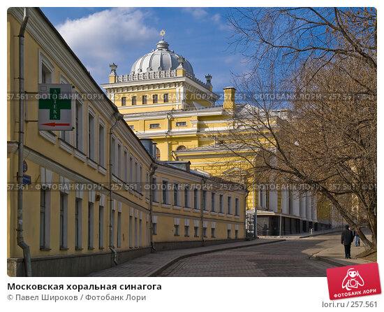 Московская хоральная синагога, эксклюзивное фото № 257561, снято 22 марта 2008 г. (c) Павел Широков / Фотобанк Лори
