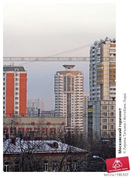 Купить «Московский горизонт», фото № 190537, снято 7 января 2008 г. (c) Ларина Татьяна / Фотобанк Лори