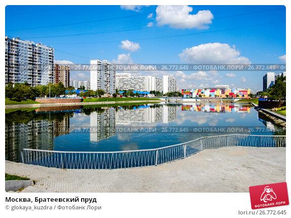 Москва, Братеевский пруд, фото № 26772645, снято 11 августа 2017 г. (c) glokaya_kuzdra / Фотобанк Лори