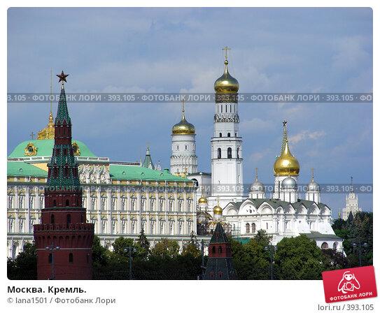 Купить «Москва. Кремль.», эксклюзивное фото № 393105, снято 8 августа 2008 г. (c) lana1501 / Фотобанк Лори