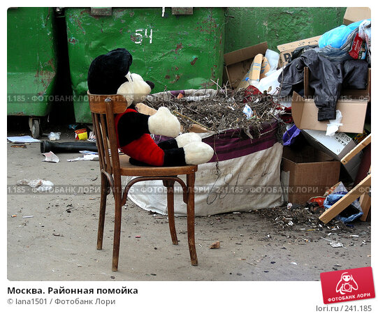Москва. Районная помойка, эксклюзивное фото № 241185, снято 31 марта 2008 г. (c) lana1501 / Фотобанк Лори