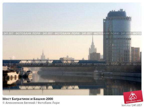 Мост Багратион и Башня-2000, фото № 241057, снято 29 марта 2008 г. (c) Алексеенков Евгений / Фотобанк Лори