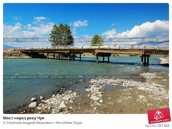 Купить «Мост через реку Чуя», фото № 257429, снято 25 августа 2007 г. (c) Селигеев Андрей Иванович / Фотобанк Лори