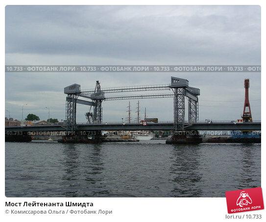 Мост Лейтенанта Шмидта, фото № 10733, снято 22 июля 2006 г. (c) Комиссарова Ольга / Фотобанк Лори