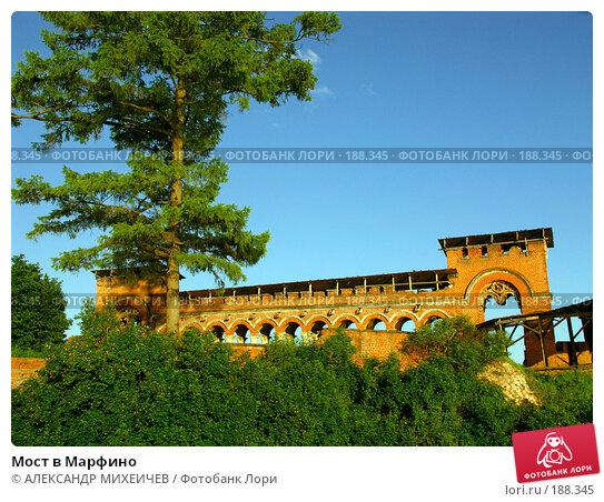 Мост в Марфино, фото № 188345, снято 17 июня 2006 г. (c) АЛЕКСАНДР МИХЕИЧЕВ / Фотобанк Лори