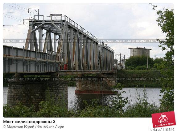 Мост железнодорожный, фото № 116549, снято 11 июля 2007 г. (c) Марюнин Юрий / Фотобанк Лори