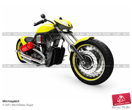 Мотоцикл, иллюстрация № 79281 (c) ИЛ / Фотобанк Лори