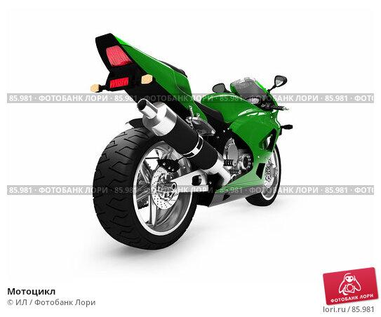 Мотоцикл, иллюстрация № 85981 (c) ИЛ / Фотобанк Лори