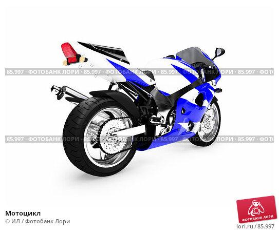 Купить «Мотоцикл», иллюстрация № 85997 (c) ИЛ / Фотобанк Лори