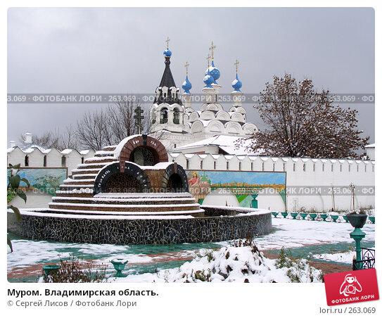 Купить «Муром. Владимирская область.», фото № 263069, снято 4 ноября 2007 г. (c) Сергей Лисов / Фотобанк Лори