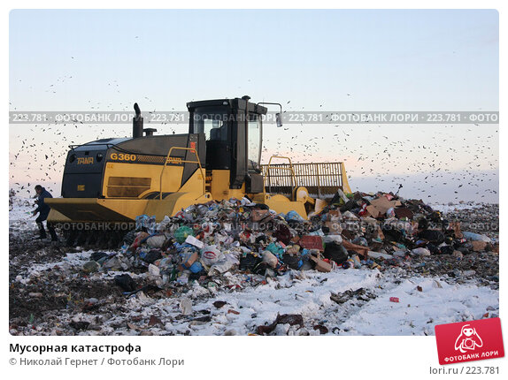 Купить «Мусорная катастрофа», фото № 223781, снято 20 декабря 2007 г. (c) Николай Гернет / Фотобанк Лори