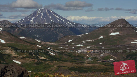 Купить «Mutnovskaya Geothermal Power Plant. Kamchatka Peninsula, Russian Far East», видеоролик № 29539073, снято 18 сентября 2018 г. (c) А. А. Пирагис / Фотобанк Лори