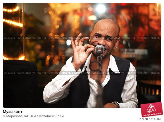Музыкант, фото № 214361, снято 25 февраля 2008 г. (c) Морозова Татьяна / Фотобанк Лори