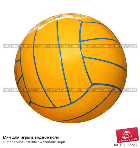 Купить «Мяч для игры в водное поло», фото № 165557, снято 5 мая 2007 г. (c) Морозова Татьяна / Фотобанк Лори