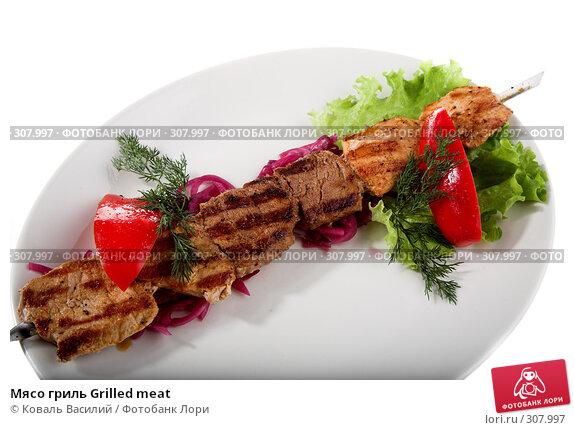 Мясо гриль Grilled meat, фото № 307997, снято 21 мая 2008 г. (c) Коваль Василий / Фотобанк Лори