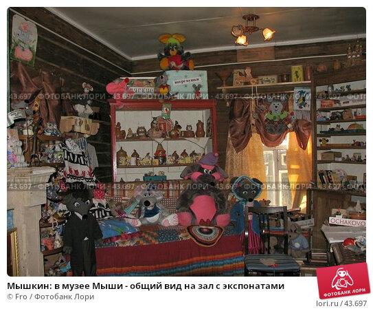 Мышкин: в музее Мыши - общий вид на зал с экспонатами, фото № 43697, снято 29 апреля 2006 г. (c) Fro / Фотобанк Лори