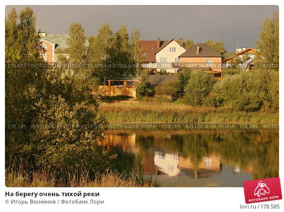 Купить «На берегу очень тихой реки», фото № 178585, снято 29 августа 2007 г. (c) Игорь Веснинов / Фотобанк Лори