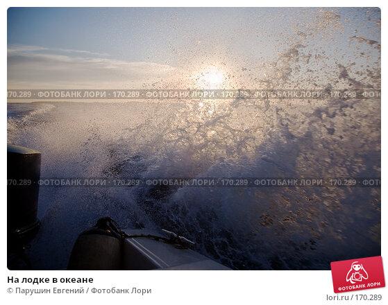 Купить «На лодке в океане», фото № 170289, снято 20 апреля 2018 г. (c) Парушин Евгений / Фотобанк Лори