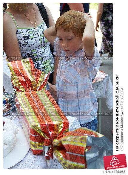 На открытии кондитерской фабрики, фото № 170085, снято 18 августа 2007 г. (c) Сафронова Мария / Фотобанк Лори