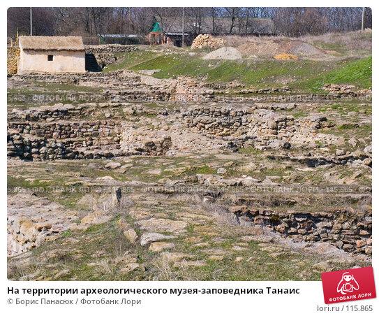 На территории археологического музея-заповедника Танаис, фото № 115865, снято 22 февраля 2007 г. (c) Борис Панасюк / Фотобанк Лори