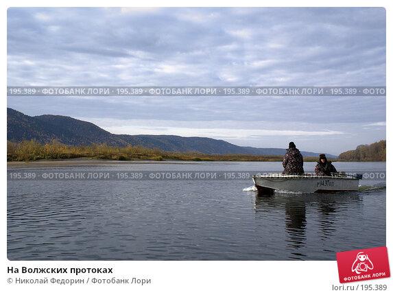 На Волжских протоках, фото № 195389, снято 21 октября 2007 г. (c) Николай Федорин / Фотобанк Лори