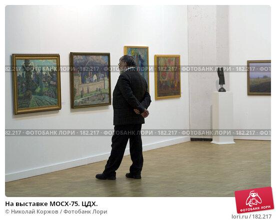 На выставке МОСХ-75. ЦДХ., фото № 182217, снято 20 января 2008 г. (c) Николай Коржов / Фотобанк Лори