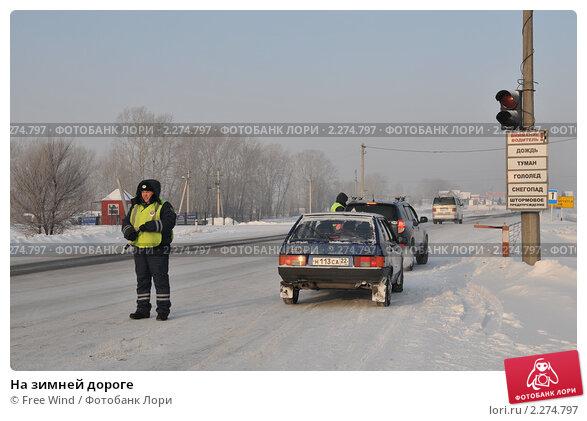 Купить «На зимней дороге», эксклюзивное фото № 2274797, снято 26 декабря 2010 г. (c) Free Wind / Фотобанк Лори