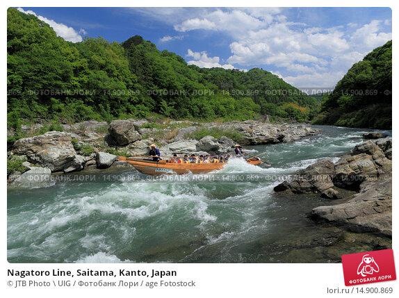 Купить «Nagatoro Line, Saitama, Kanto, Japan», фото № 14900869, снято 19 июня 2018 г. (c) age Fotostock / Фотобанк Лори