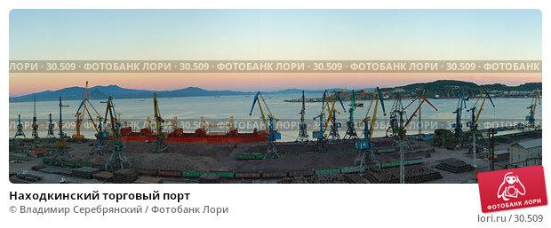 Находкинский торговый порт, фото № 30509, снято 24 января 2017 г. (c) Владимир Серебрянский / Фотобанк Лори