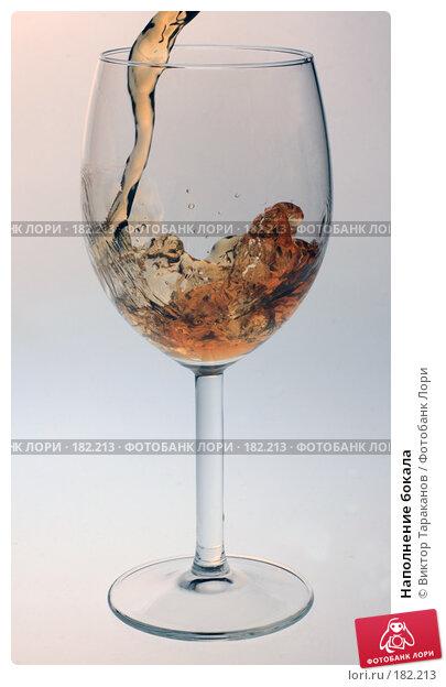 Наполнение бокала, эксклюзивное фото № 182213, снято 21 января 2008 г. (c) Виктор Тараканов / Фотобанк Лори