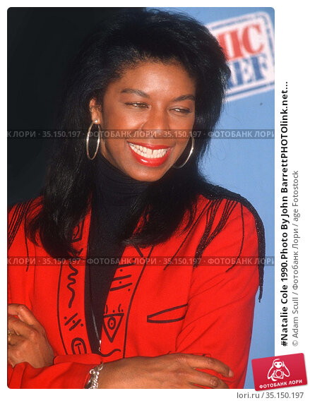 #Natalie Cole 1990.Photo By John BarrettPHOTOlink.net... Редакционное фото, фотограф Adam Scull / age Fotostock / Фотобанк Лори