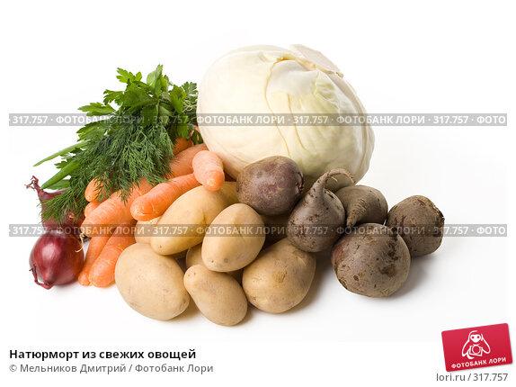 Купить «Натюрморт из свежих овощей», фото № 317757, снято 18 мая 2008 г. (c) Мельников Дмитрий / Фотобанк Лори